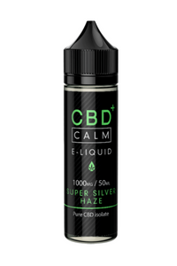 Calm CBD E-Liquid 1000mg/50ml - Super Silver Haze