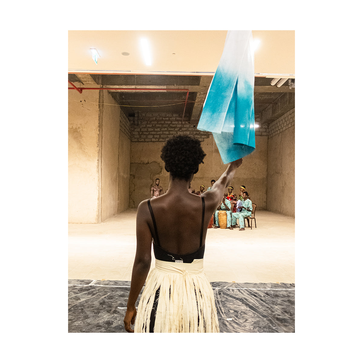 """My hair is woolly, my back is strong"" by Jessica Sarkodie - photography print"