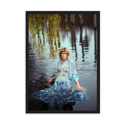 The Water Sprite by Carolina Mills - photography print
