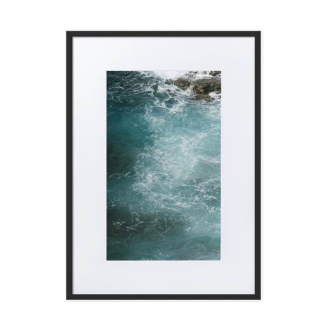 Sea, swallow me. by Gilberto Rex - photography print