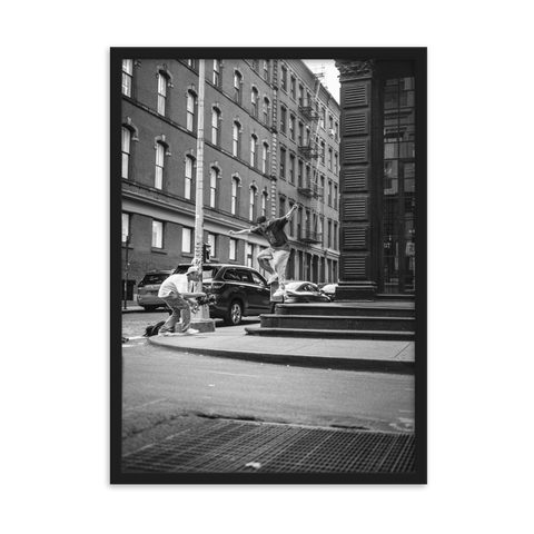 Soho Skate by Shahrnaz Javid - photography print