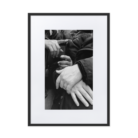 Never let me go by Yago Barbosa - photography print