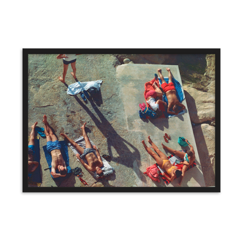Sliema Bathers by Sophie le Roux - photography print