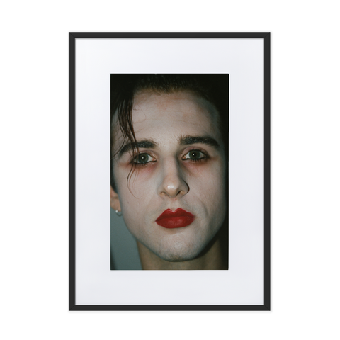 Red Lips by Franco Schicke - photography print