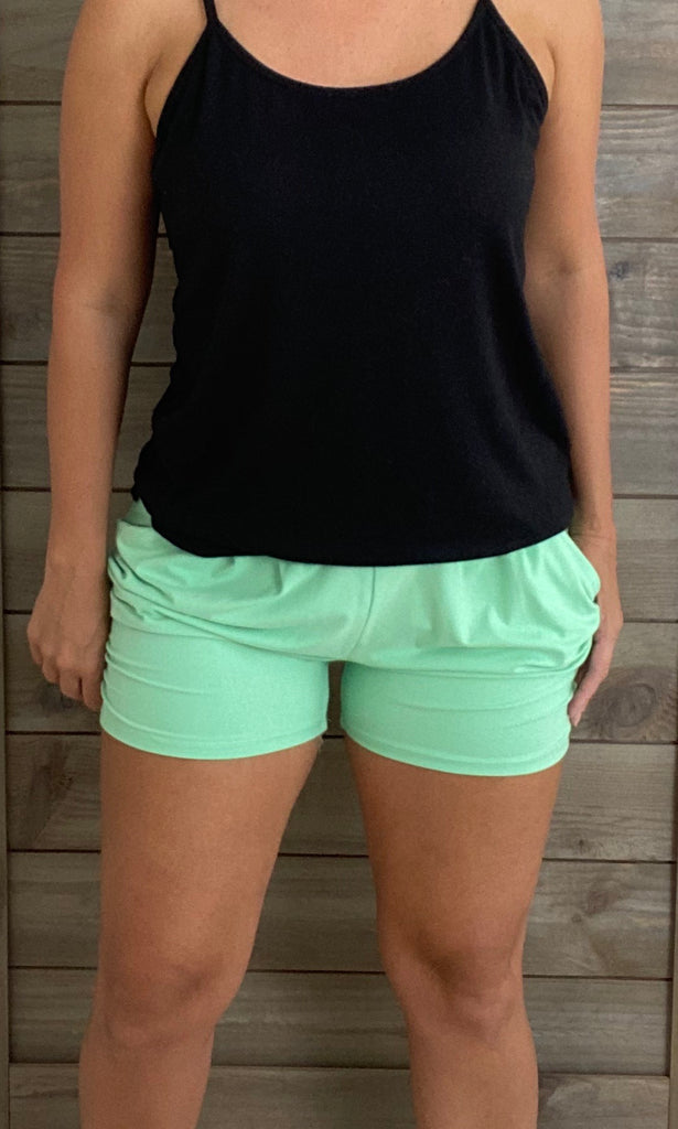 Mint Harem Shorts