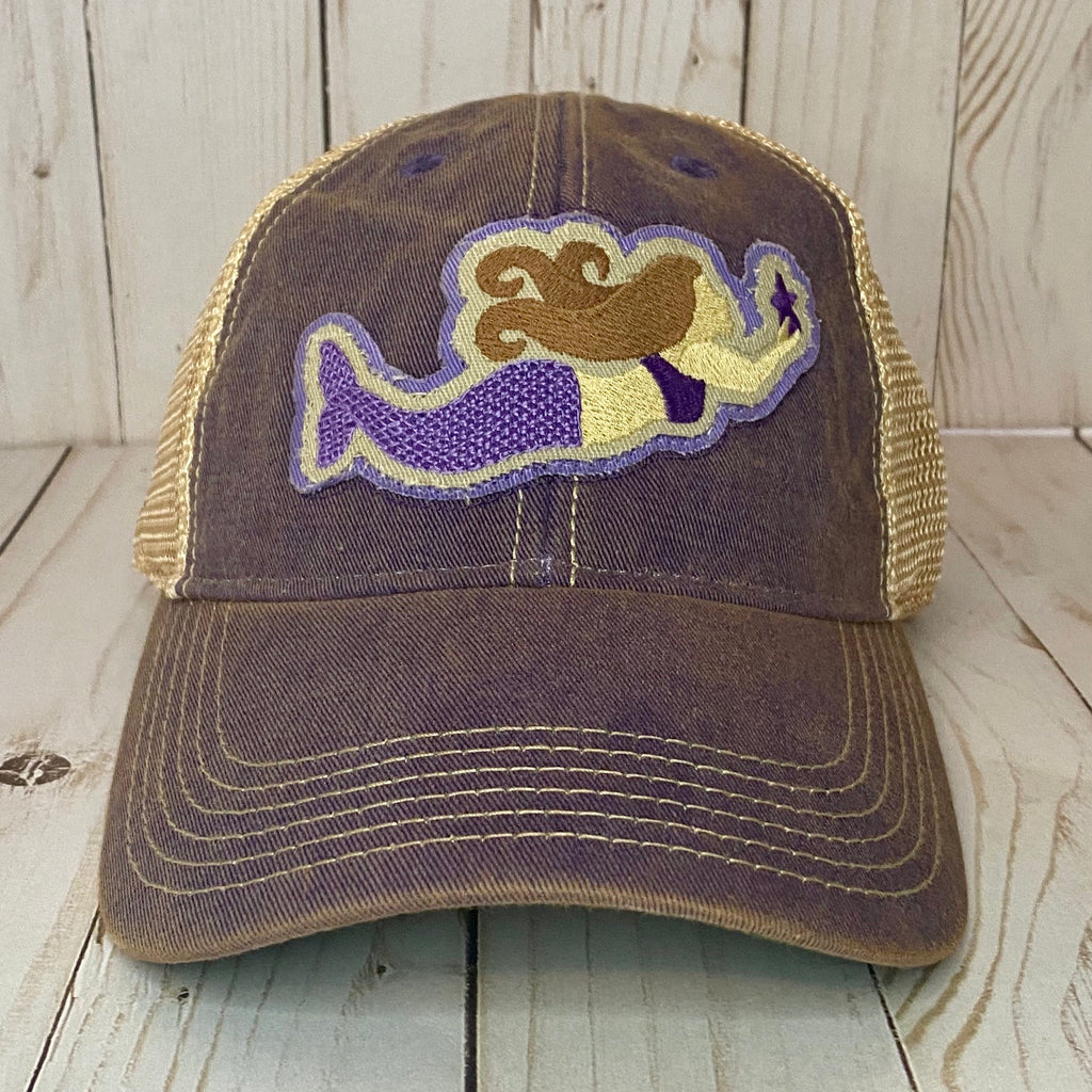 Purple Mermaid Hat