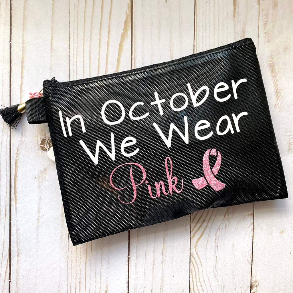 Wear Pink Makeup Bag