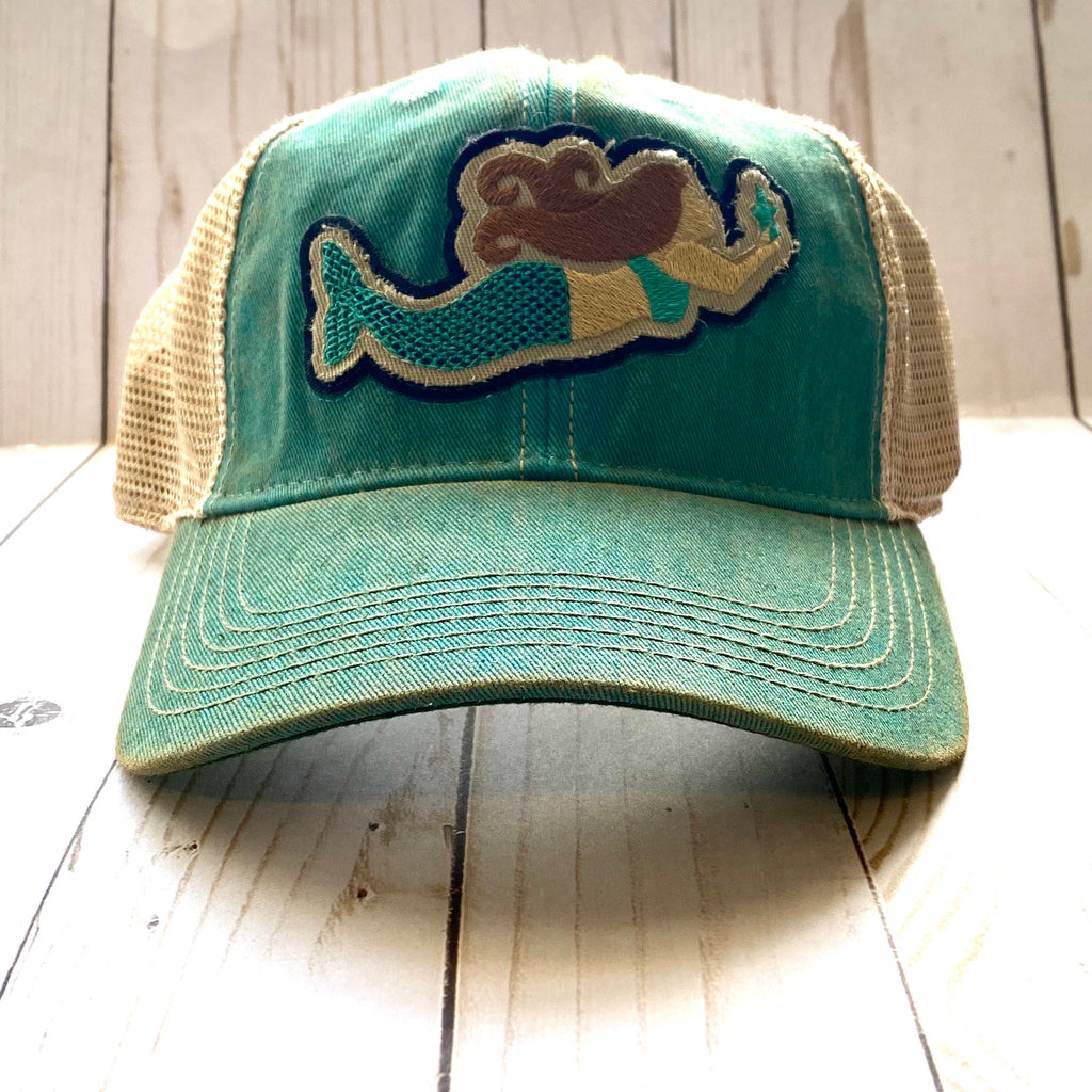 Teal Mermaid Hat