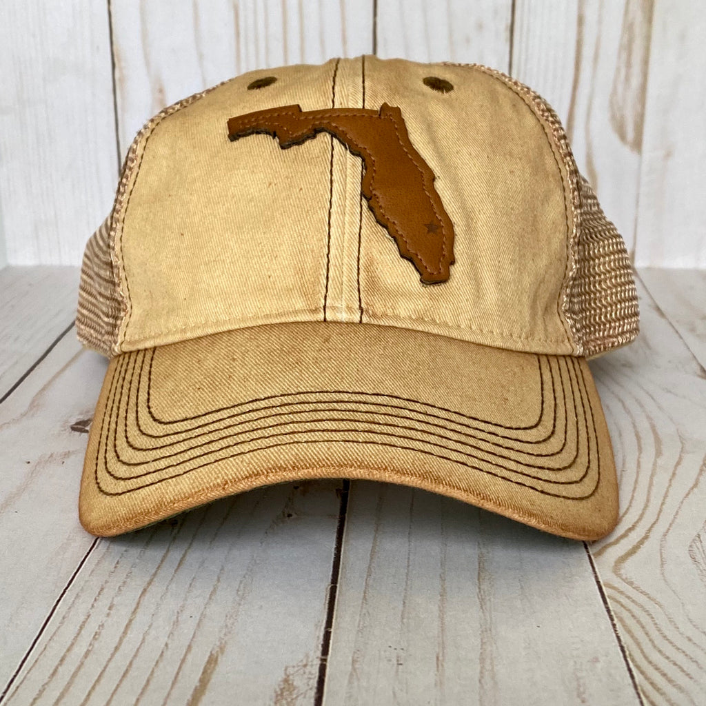 Leather Florida Hat
