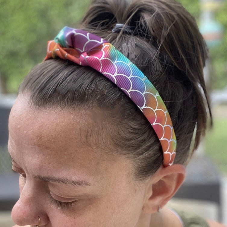 Rainbow Mermaid headband