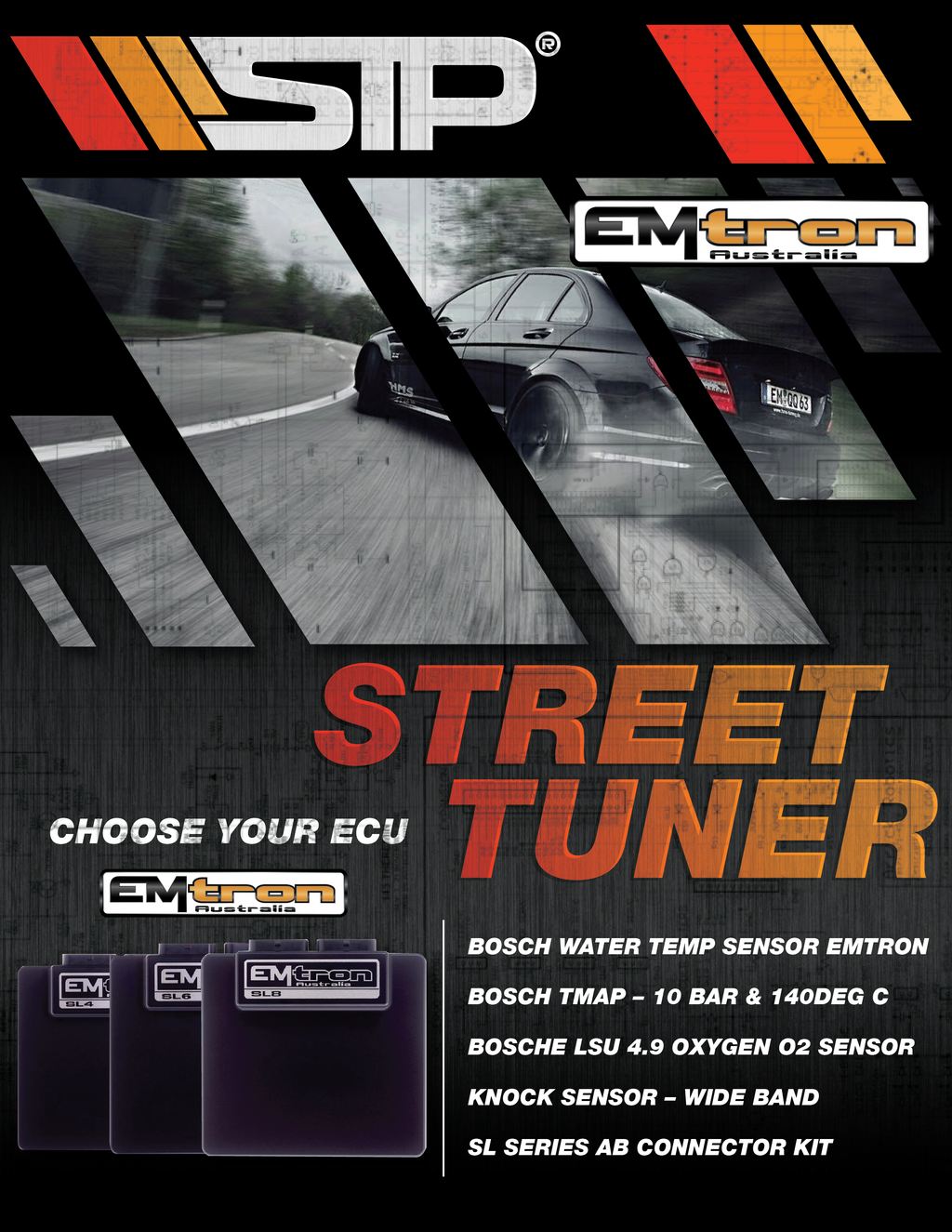 Street Tuner Combo - SIMPLETECHNIQES  PERFORMANCE