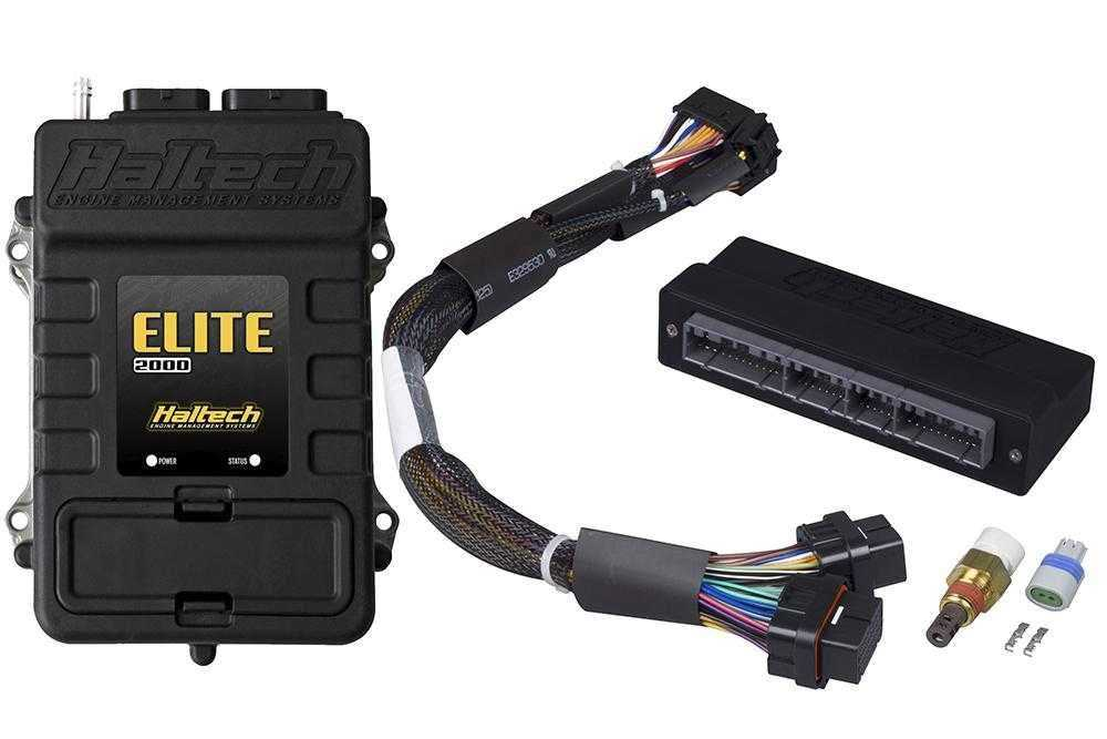 Elite 2000 + Mazda RX7 FD3S-S6 Plug 'n' Play Adaptor Harness Kit - SIMPLETECHNIQES  PERFORMANCE