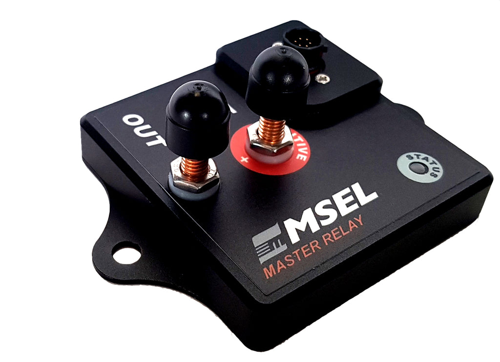 MSEL Solid State Master Relay Professional Battery Isolator