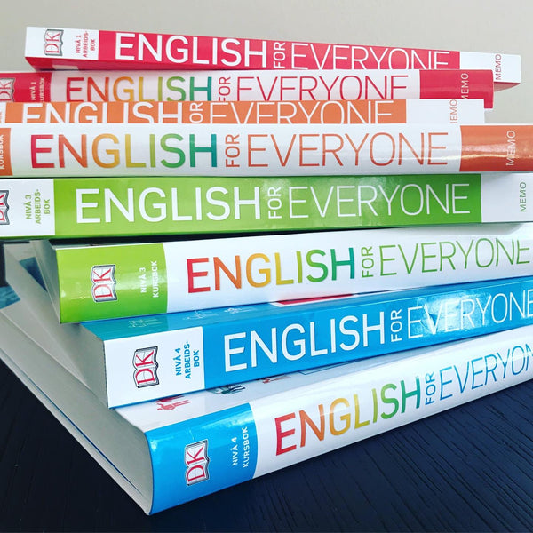 English for Everyone - supertilbud: 50 % rabatt ved kjøp av komplett sett