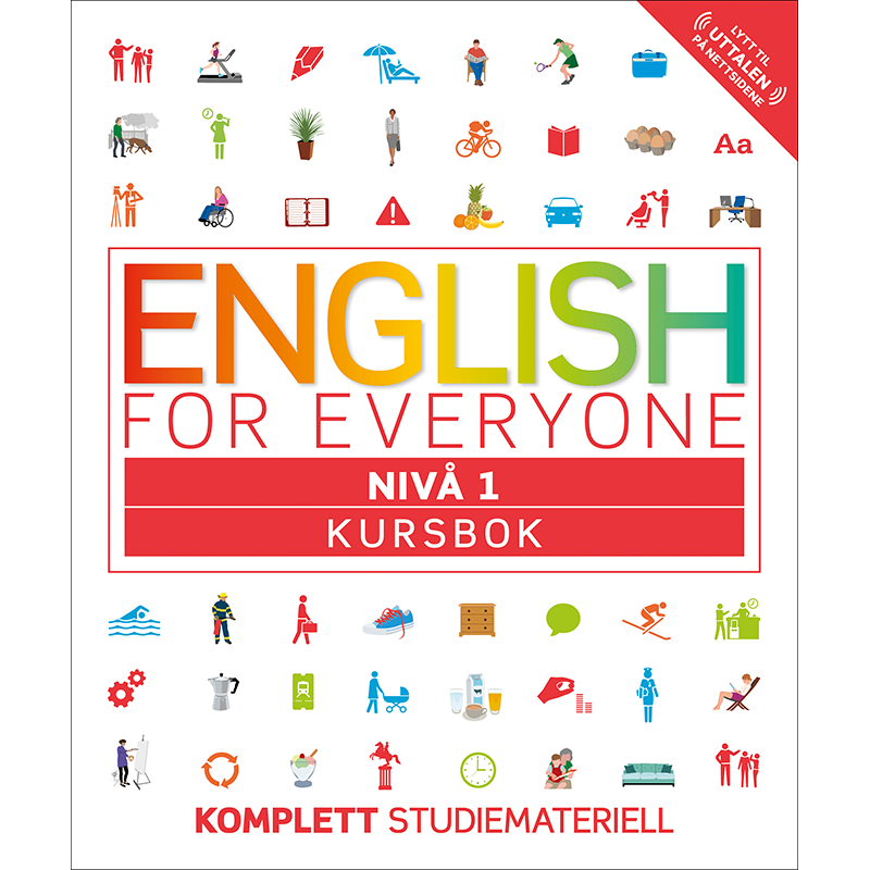 English for Everyone – Kursbok nivå 1