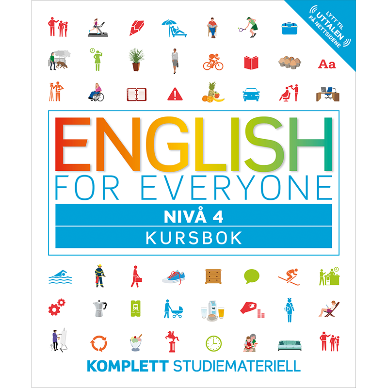 English for Everyone – Kursbok nivå 4
