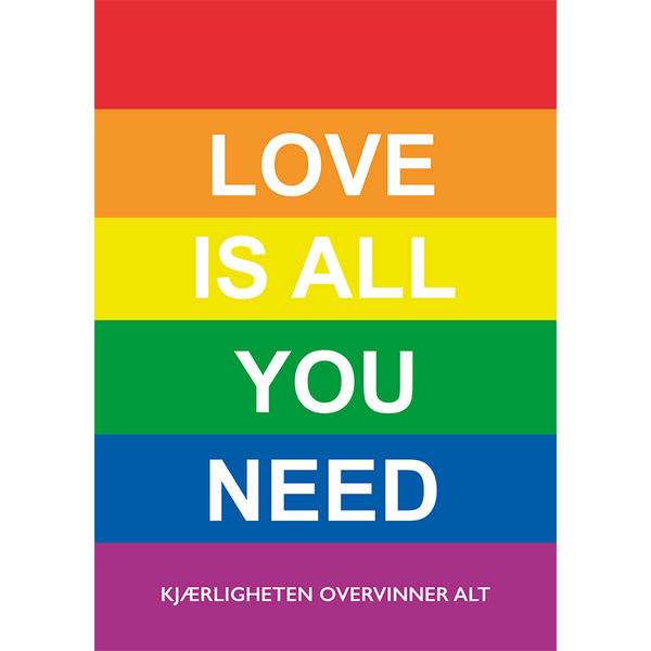Love is all you need – kjærligheten overvinner alt
