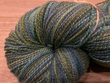 HANDSPUN - Polwarth/Silk Wintergreen