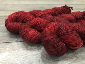 Sock (Twisted) - Lady in Red