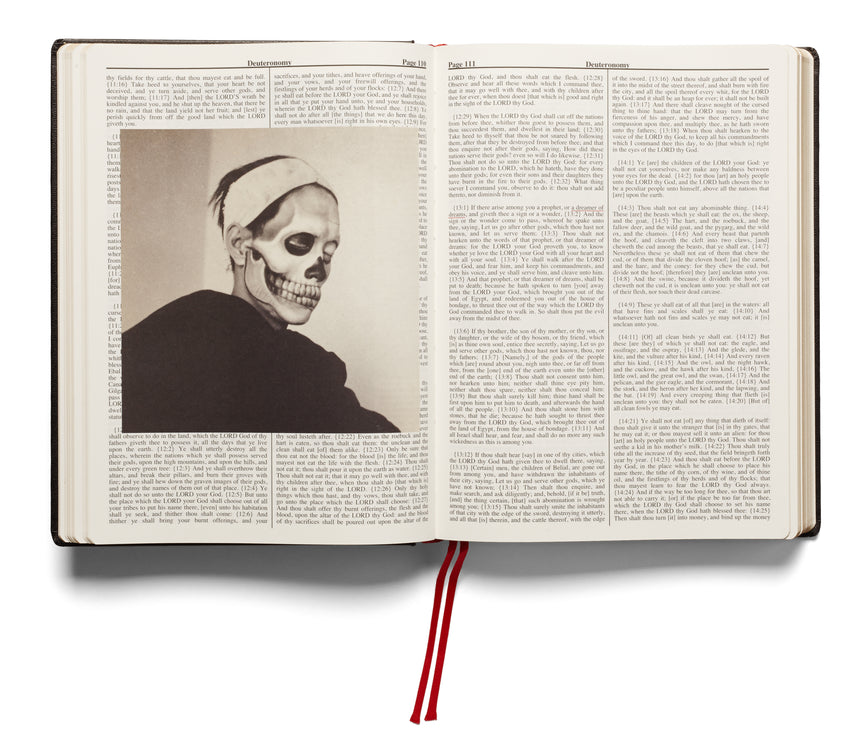Holy Bible (First printing) <br> Adam Broomberg & Oliver Chanarin - MACK