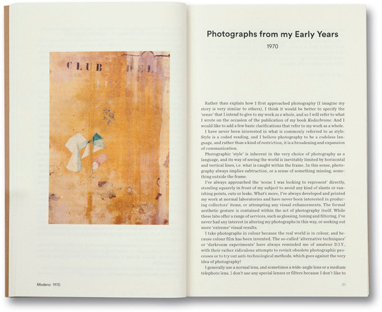 The Complete Essays <br> Luigi Ghirri - MACK