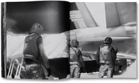 Spread of photobook Incoming by Richard Mosse, Mack photography book