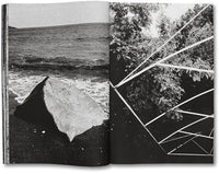Spread of photobook Nothing But Clouds by Kristina Jurotschkin, Mack photography book
