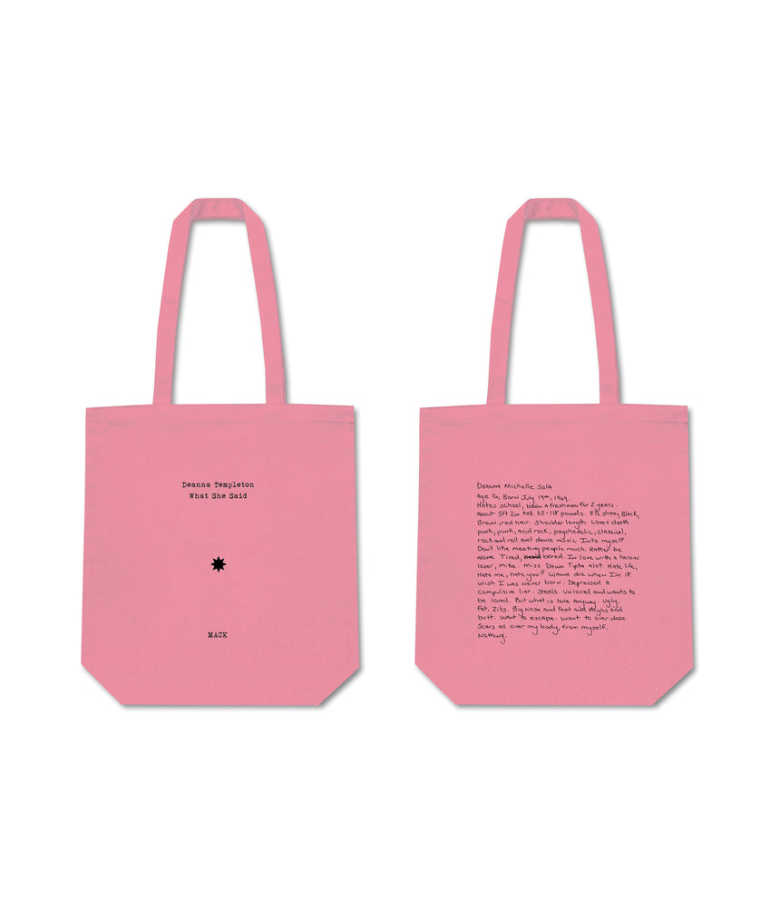 What She Said -  Limited Edition Tote Bag