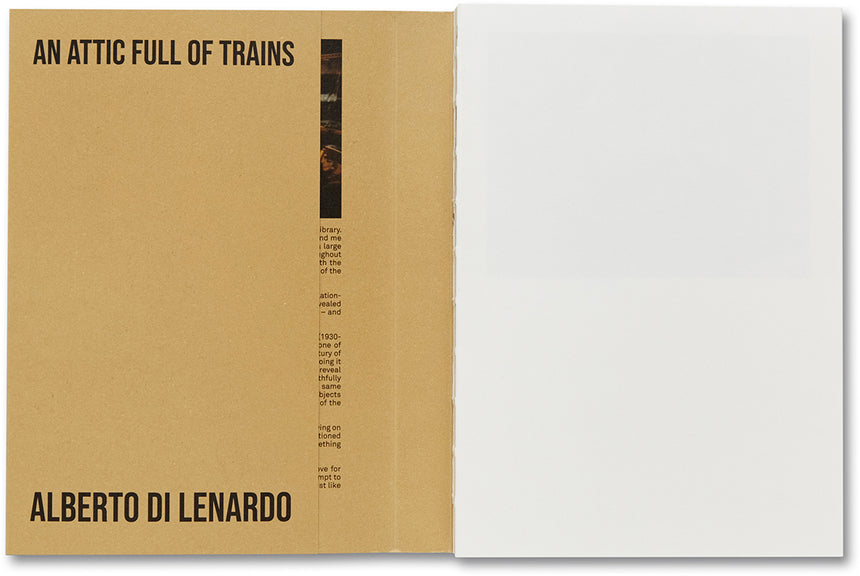 An Attic Full of Trains <br> Alberto di Lenardo, Carlotta di Lenardo (ed.) - MACK