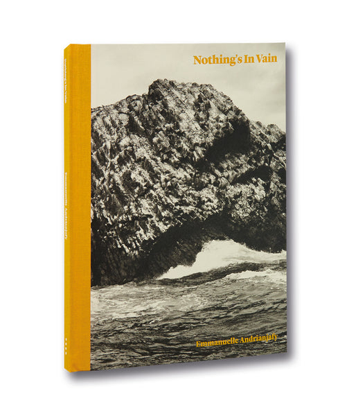Cover of photobook Nothing's in Vain by Emmanuelle Andrianjafy, Mack photography book