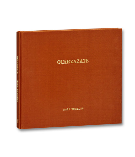 Cover of photobook Quarzazate by Mark Ruwedel, Mack photography book