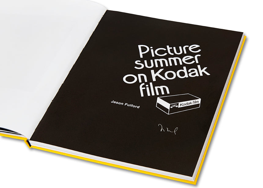 Picture Summer on Kodak Film Special Edition <br> Jason Fulford - MACK