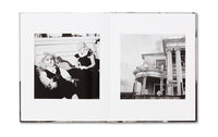 Spread of photobook Liberty Theater by Rosalind Fox Solomon, Mack photography book