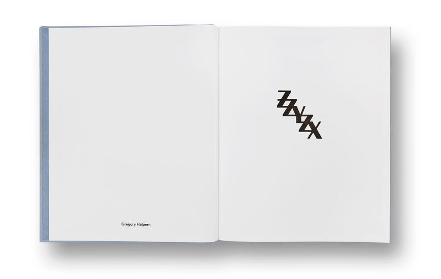 ZZYZX <br> Gregory Halpern (First edition, signed) - MACK