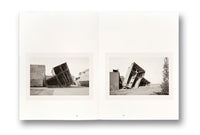 Spread of photobook The Land in Between by Ursula-Schulz Dornburg, Mack photography book