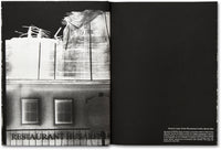 Spread of photobook The Castle by Richard Mosse, Mack photography book