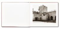 Spread of photobook Quarzazate by Mark Ruwedel, Mack photography book