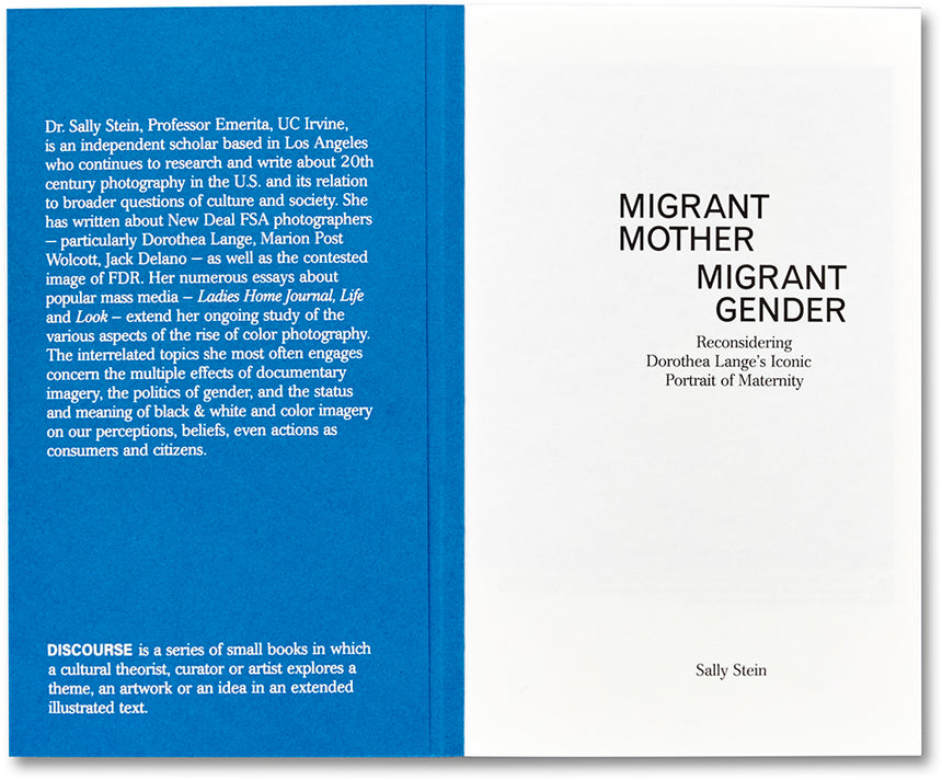 Migrant Mother, Migrant Gender Sally Stein - MACK