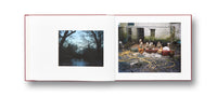 Spread of photobook The Moth by Jem Southam, Mack photography book