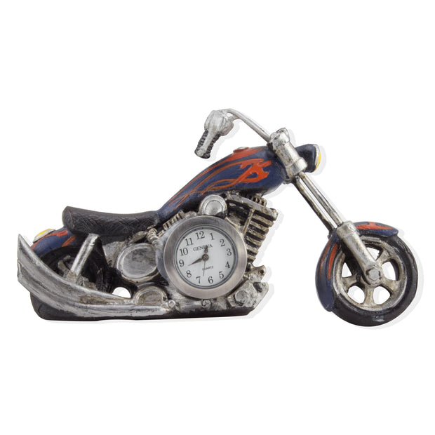 Decorative Mini Motorcycle Table-top Clock