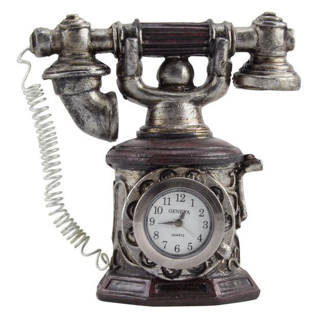Decorative Mini Telephone Table-top Clock