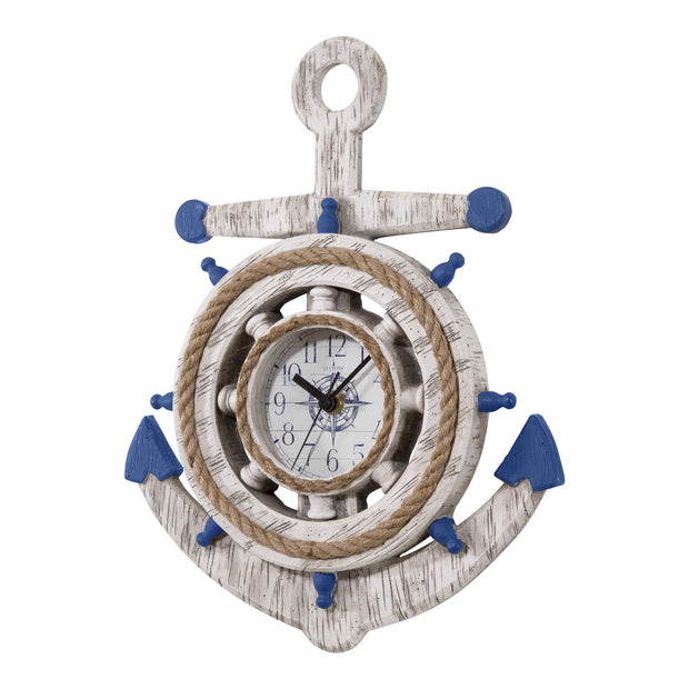 BBB84008 14 in. Anchor Clock
