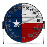 104-105TX 5 inch Americana Flag Thermometer with Bracket