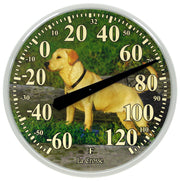 104-114-DOG 13.5 inch Dial Thermometer with Key Hider