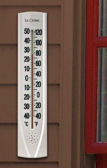 204-115 15 inch Thermometer with Key Hider
