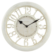 20857 11.5 inch Floating Dial Wall Clock