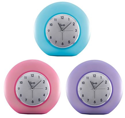 25300 Variety Pack - Quartz Analog Frosted Alarms