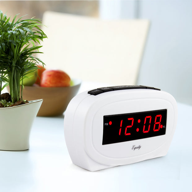30227 0.6 inch Red LED Alarm Clock