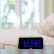 30451 Color-Changing LCD Alarm Clock