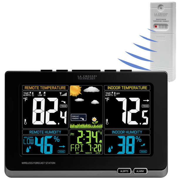 T85647 Wireless Color Weather Station
